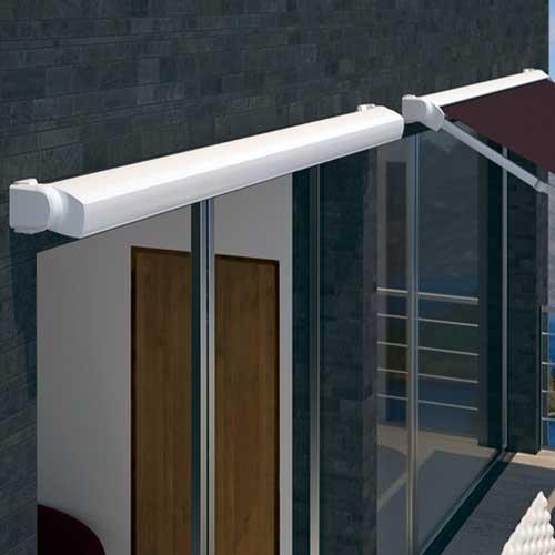 Tipos de toldos para terrazas balcones y ventanas modelos - Toldo con cofre ...
