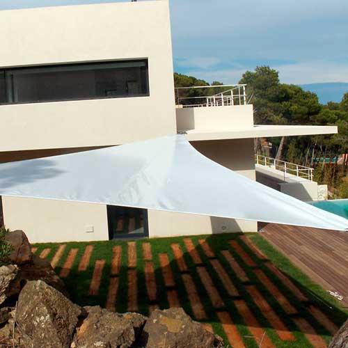 Tipos de toldos para terrazas balcones y ventanas modelos - Toldo tipo vela ...