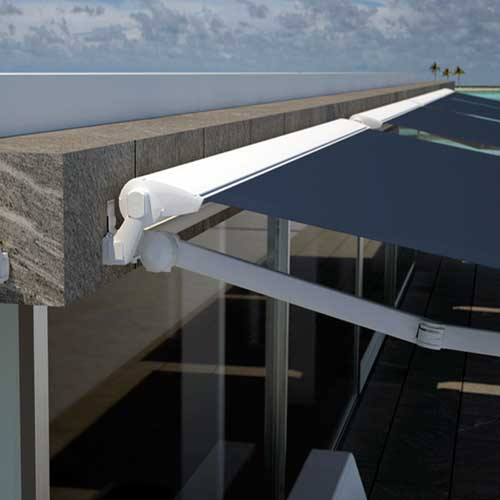 Tipos de toldos para terrazas balcones y ventanas modelos for Anclajes para toldos