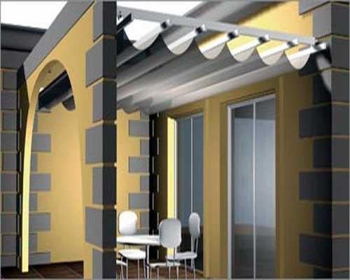 Tipos de toldos para terrazas balcones y ventanas modelos for Paredes plegables