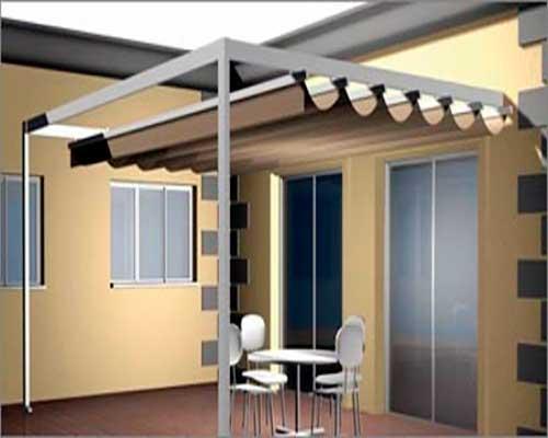 Tipos de toldos para terrazas balcones y ventanas modelos for Toldos corredizos para terrazas
