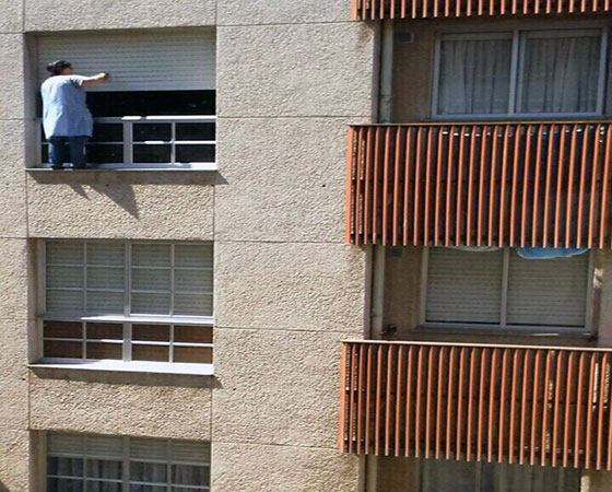 como limpiar persianas por fuera sin desmontarlas