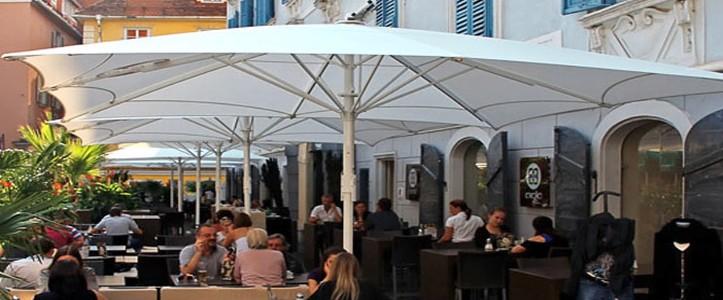 Sombrillas hosteleria para terraza bar restaurante for Sombrillas terraza