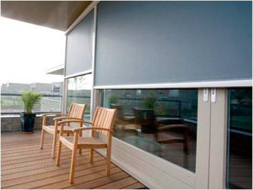 Estores de exterior materiales de construcci n para la - Estores exteriores enrollables ...