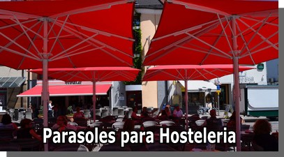Sombrillas para Hosteleria Madrid